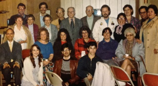 Shabbat at Pilgrim 1987